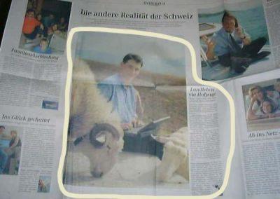 Sonntags Zeitung  Ganzseitig  Sommer 2000
